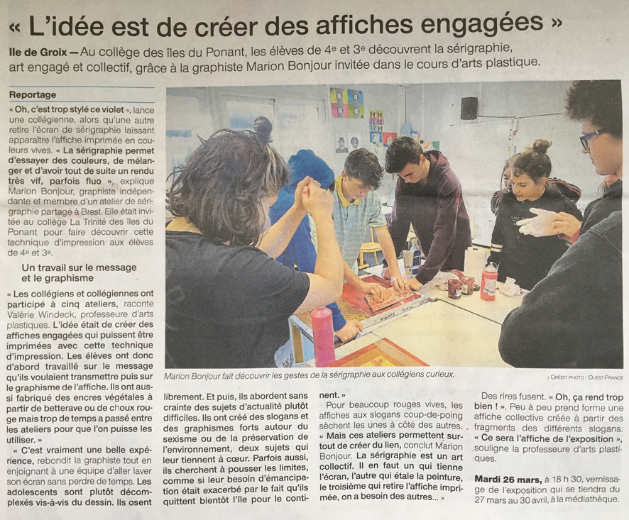 ouest france 14-03-19